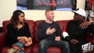 Angela Yee Talks 'POWER' With Joseph Sikora & 50 Cent