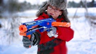 Nerf War: Winter Attack