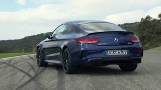 2016 Mercedes AMG C 63 S Coupe on the Race Track