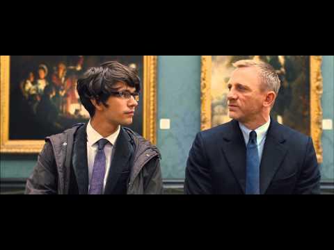 Skyfall - James Bond meeting Q (1080p)