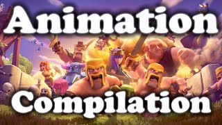 CLASH OF CLANS FULL MOVIE ANIMATION | HD 2016 SEPTEMBER
