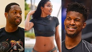 Dwyane Wade CATCHES Jimmy Butler Flirting With His Wife Gabrielle Union and SHUTS HIM DOWN!