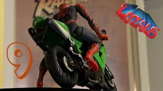 SPIDERMAN STOP MOTION Action Video Part 9