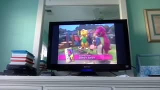 Closing to Barney: Waiting For Santa 1995 Extremely Rare VHS