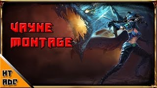 Vayne Montage - Vayne Compilation [How To ADC]