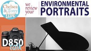 D850 Quick Review, Environmental Portraits (TC Live)