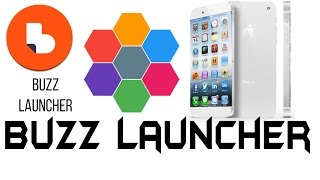 Buzz Launcher | customize your phone with 3D theme