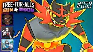 Pokémon Sun & Moon FFAs #033 Feat. JayYTGamer, CrimsonCBAD & BlueJayOnToast