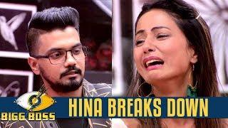 Bigg Boss 11 | Hina Khan breaks down after meeting her boyfriend in the show