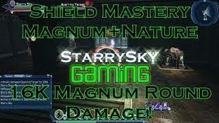 DCUO 16K Magnum Round! Shield Mastery+Magnum+Nature!