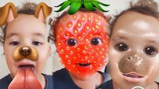 Baby Surprises Herself! | Surprise | Kids Songs | Family Fun | Disney Frozen Elsa Spiderman Snapchat