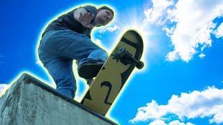 SKATEBOARD STUNT CHALLENGE! (Dangerous!)