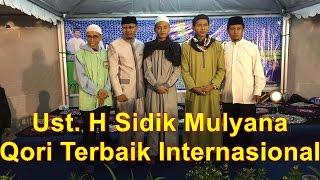 Ustadz H Sidiq Mulyana Qori Internasional - Malam Haflah Tilawatil Qur'an Kota Bima NTB