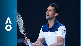 Novak Djokovic v Gael Monfils match highlights (2R) | Australian Open 2018