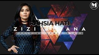 Zizi Kirana - Rahsia Hati (Official Lyric Video)