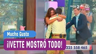 Ivette mostró todo - Mucho Gusto 2016