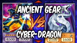 Duel Week: ANCIENT GEARS vs CYBER DRAGONS (Yugioh Deck Mastery)