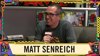 Robot Chicken's Matthew Senreich joins the Marvel LIVE couch at SDCC 2019