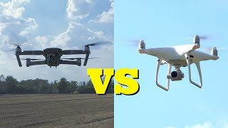 DJI Mavic Pro vs DJI Phantom 4 Pro • CONFRONTO a 360° 4K