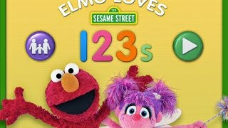 Elmo Loves 123s||Sesame Street||Numbers and Counting for Toddlers||Educational Learning App for Kids