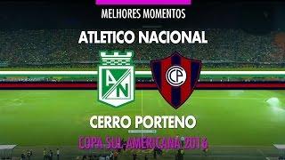 Melhores Momentos - Atletico Nacional 0 x 0 Cerro Porteño - Copa Sul-Americana - 24/11/2016