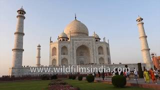 Taj Mahal, the exquisite marble structure in Agra, India