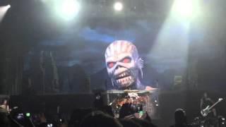 Iron Maiden Mexico 2016 Iron Maiden Big Eddie