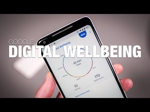 Google Digital Wellbeing First Look