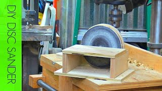 how to make disc sander | Drill Press | Izzy Swan