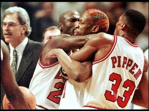 Bulls vs. Lakers 1997 TNT game
