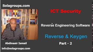Reverse Engineering Software Part-2