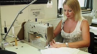 Designing and creating Donna Anna's dress for Don Giovanni (Costume Production Department)