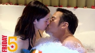 Friday 5: 5 hottest and trending intimate scenes of Adrian and Mich in PHR: Araw Gabi
