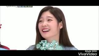 Jungkook and Chaeyeon Chaekook