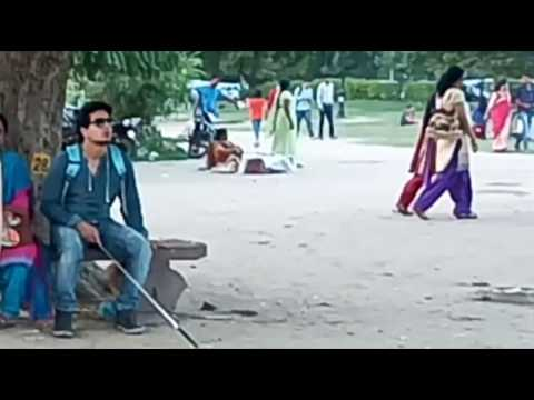 helpless blind boy //prank in india 2016