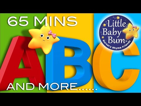 ABC Alphabet Songs And More ABC Songs Learning Songs Compilation from LittleBabyBum