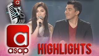 Angel Locsin sings with Luis Manzano on ASAP Karaokey Birthday Special