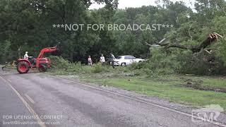 6-22-19 Winterboro, Alabama Storm Damage from Wind