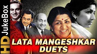 Lata Mangeshkar Duets Top 20 | Old Hindi Songs Collection | Evergreen Songs Of Bollywood