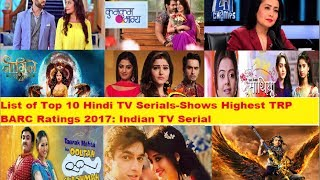 Top 10 Indian TV Serials By TRP In 2017
