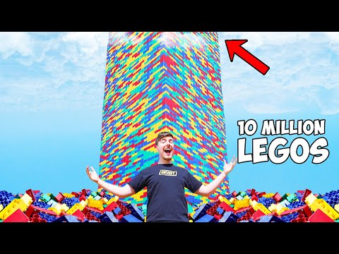 I Built The World s Largest Lego Tower