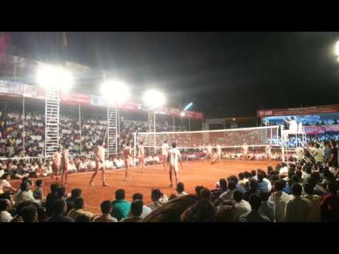 SHOOTING VOLLEY BALL SHOW MATCH INDIA JAYSHINGPUR 5