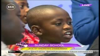 Sunday School Kids on KTN's Tukuza Show