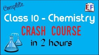 Crash Course Class 10 Chemistry revision in 2 hrs