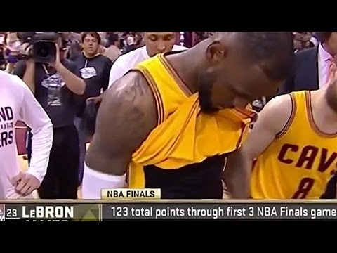 LeBron James' Penis Showed During Game 4 of NBA Finals