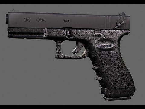 Glock 18C Tokyo Marui Airsoft Brasil