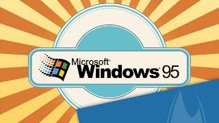 Windows 95 Retro Review (Deutsch/German)
