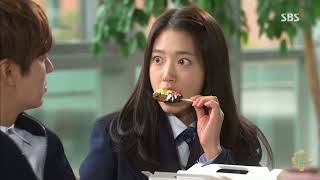 The Heirs Sweet moments of Kim Tan and Cha Eun sang