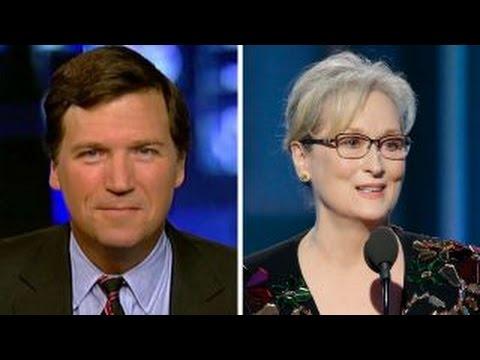 Tucker Carlson on moving to 9 p.m. ET Meryl Streep s speech