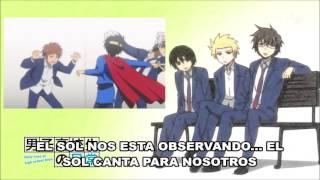 Danshi Koukousei No Nichijou ending (Fandub Latino)